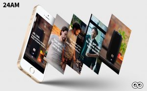 JBL Mobile First campagne 24AM