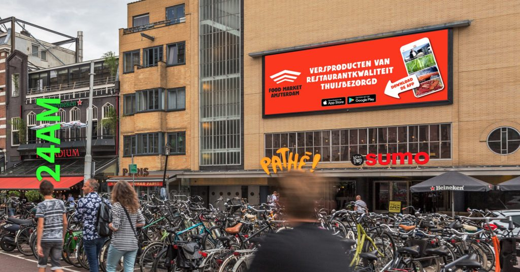 dooh digital out of home buitenreclame 24am advertising ocean outdoor marketing